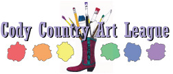 cody country art league logo